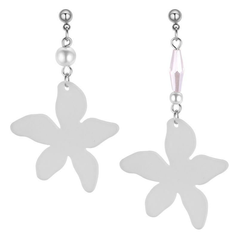 Korean version of simple temperament starfish earrings NHNPS4340