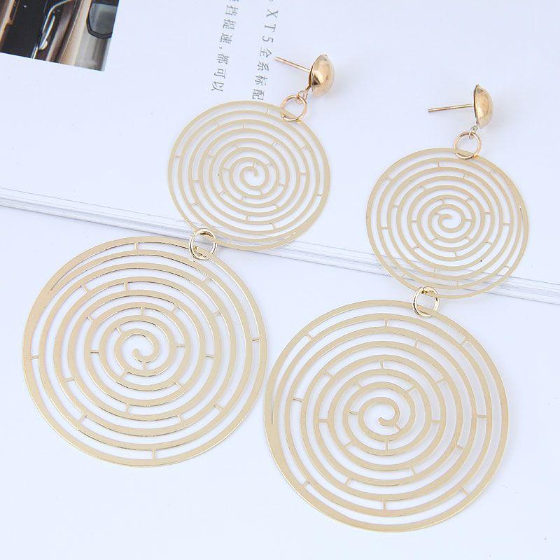Alloy Fashion earring NHNSC11780