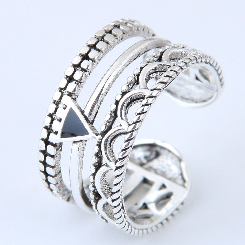 Alloy Fashion Ring NHNSC11787