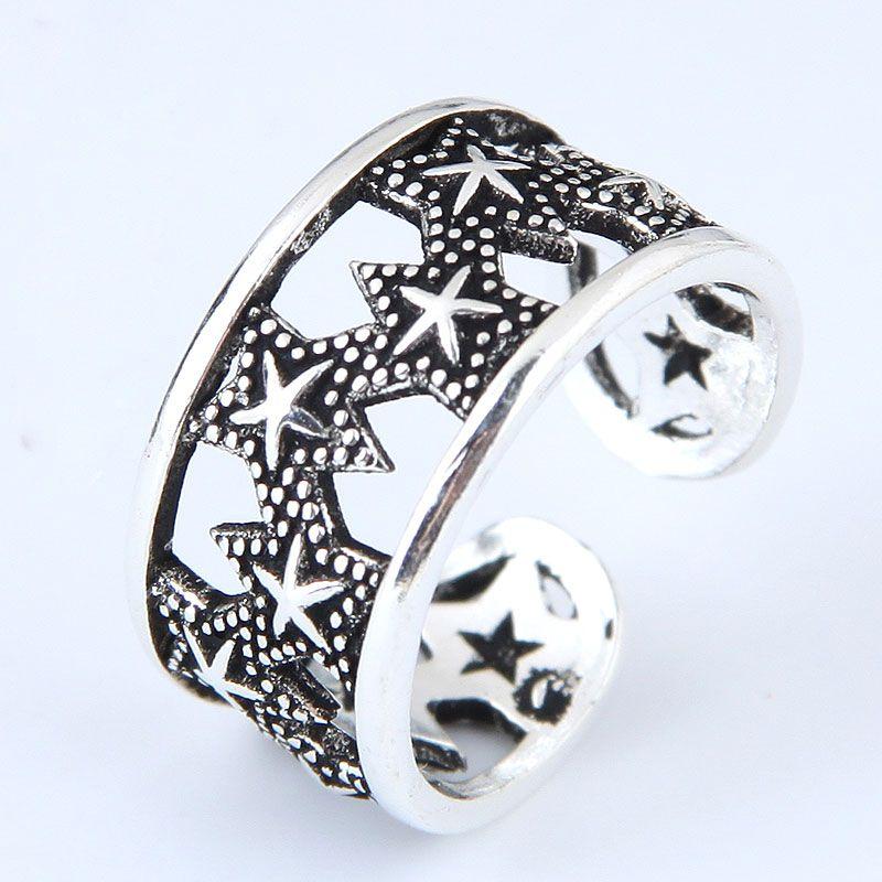 Alloy Fashion Ring NHNSC11788