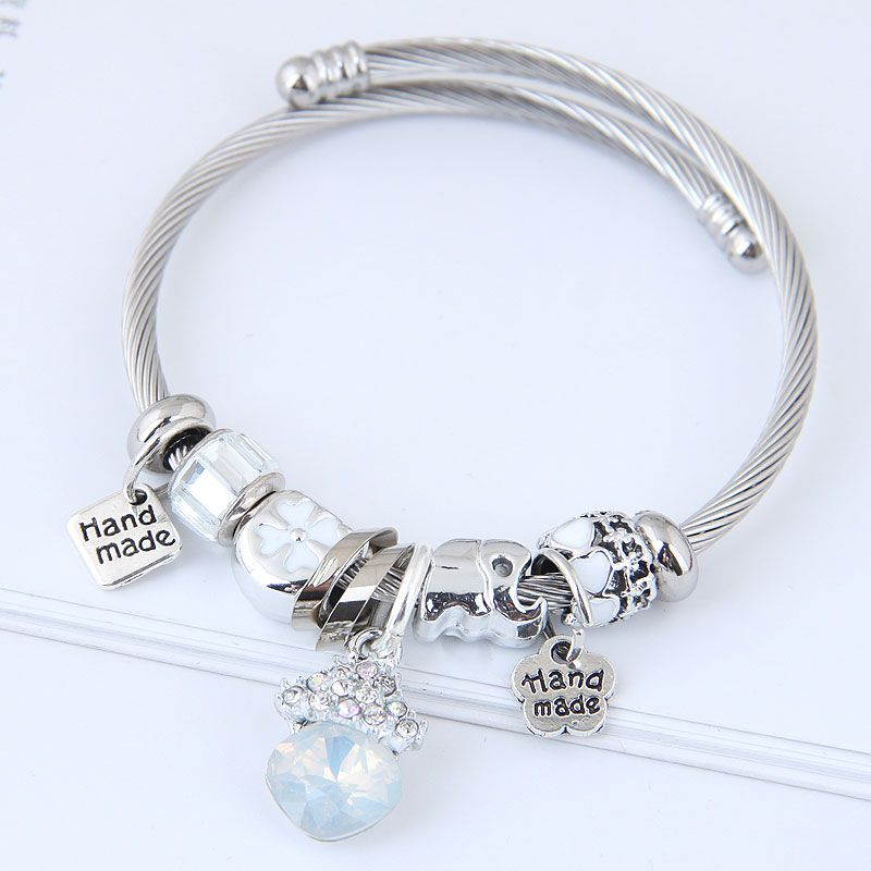 Alloy Fashion Bracelets NHNSC11817
