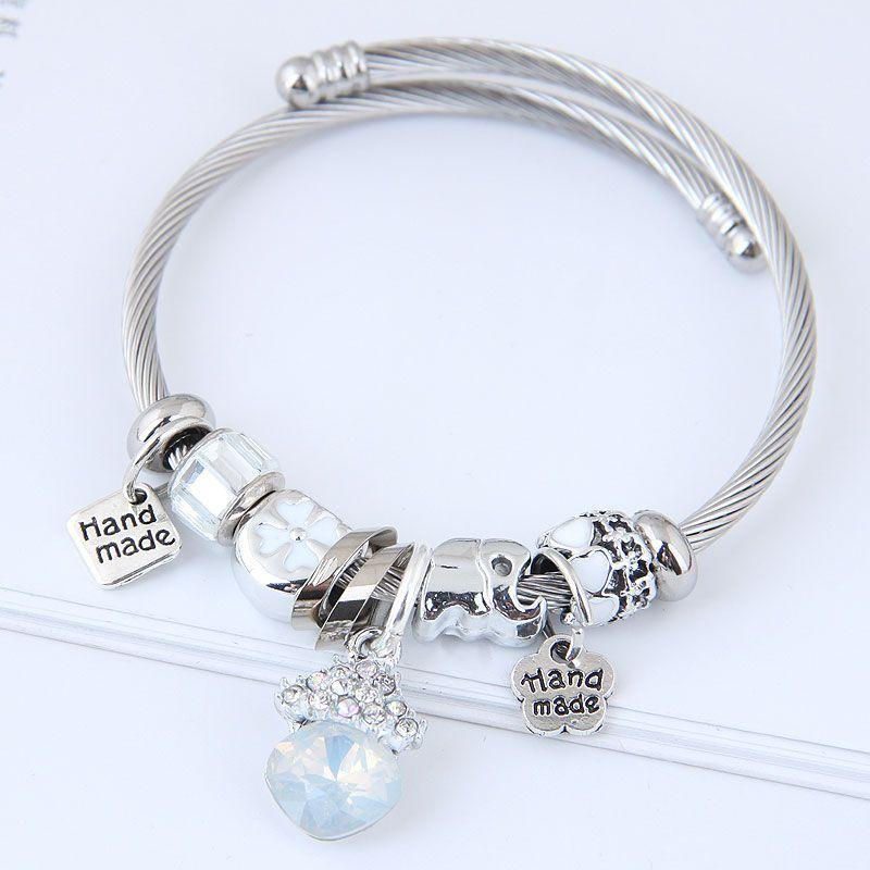 Alloy Fashion Bracelets NHNSC11817