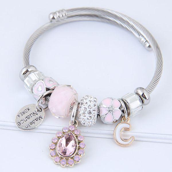 Alloy Fashion Bracelets NHNSC11821