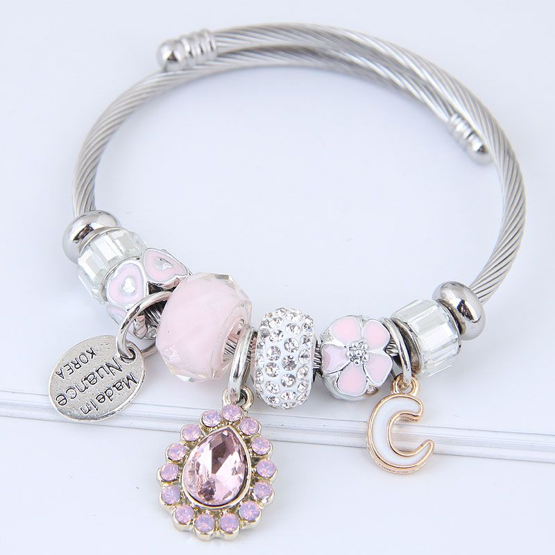Alloy Fashion Bracelets NHNSC11821
