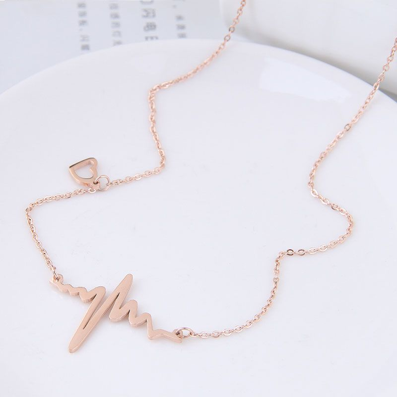Titanium&Stainless Steel Fashion necklace NHNSC11872