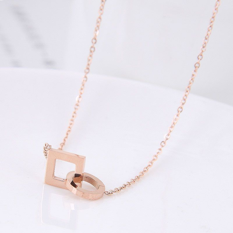 TitaniumStainless Steel Fashion necklace NHNSC11873