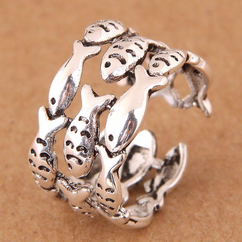 Alloy Fashion Ring NHNSC11957