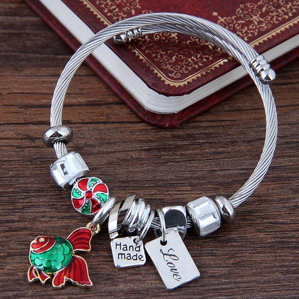Alloy Fashion Bracelets NHNSC11970