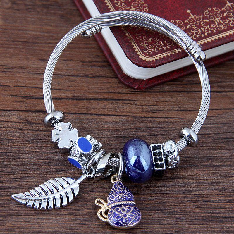 Alloy Fashion Bracelets NHNSC11981