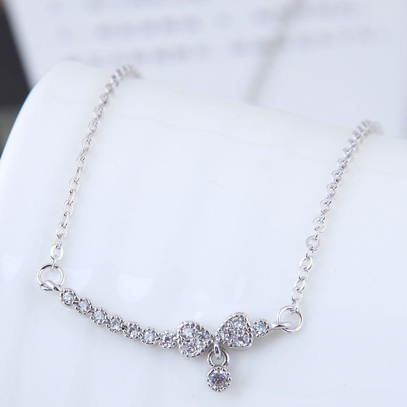 Alloy Korea necklace NHNSC12055