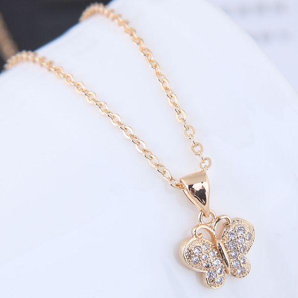 Alloy Korea necklace NHNSC12059
