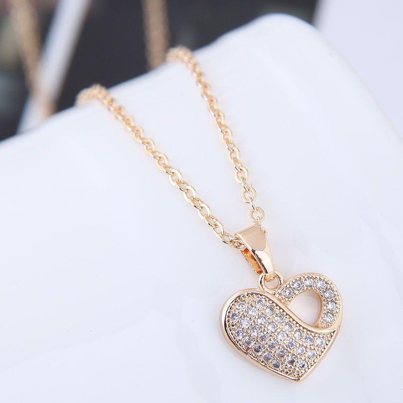 Alloy Korea necklace NHNSC12063