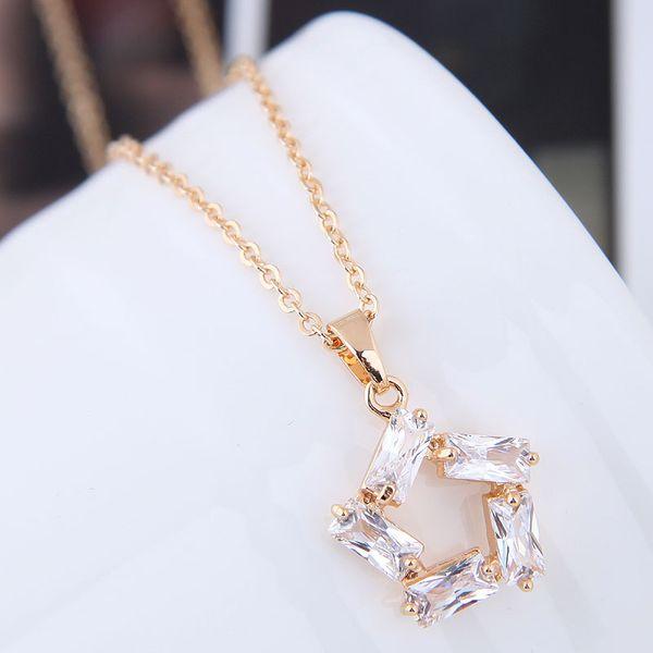 Alloy Korea necklace NHNSC12066