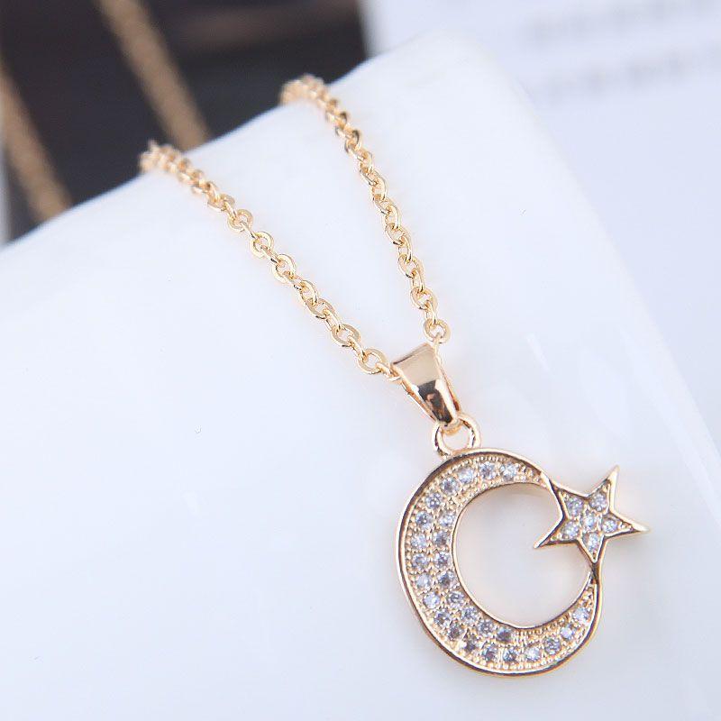 Alloy Korea necklace NHNSC12067