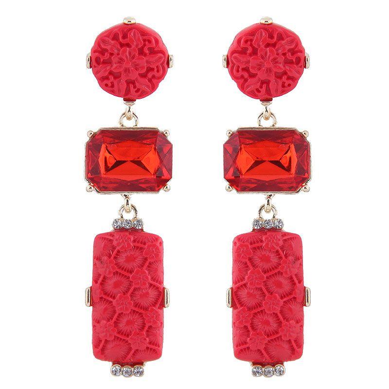 Alloy Fashion earring NHNSC12118