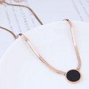 TitaniumStainless Steel Fashion necklace NHNSC11874