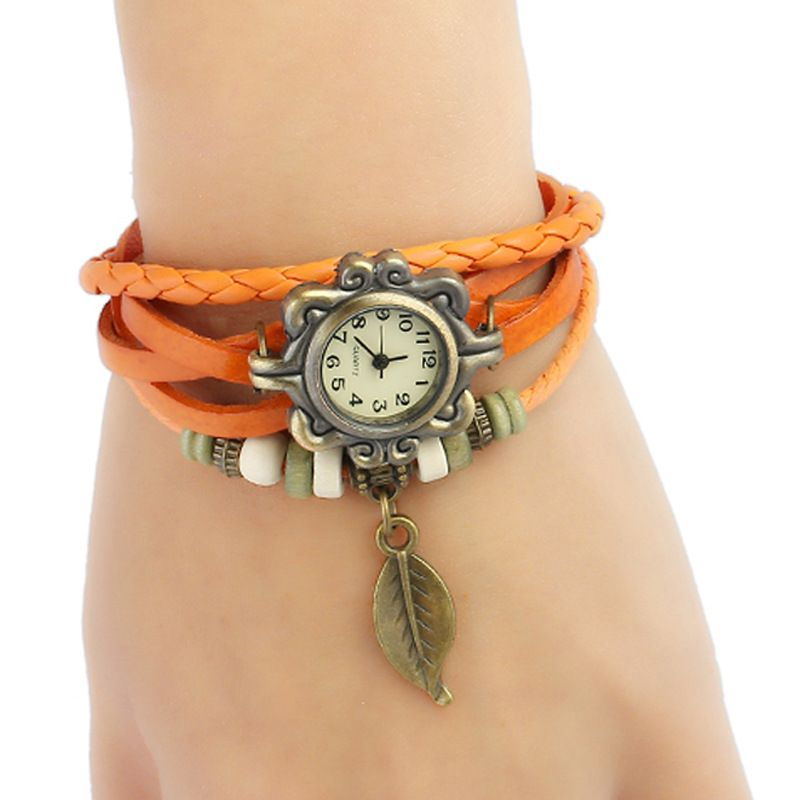 Leather Fashion  bracelet  white NHPK1339white