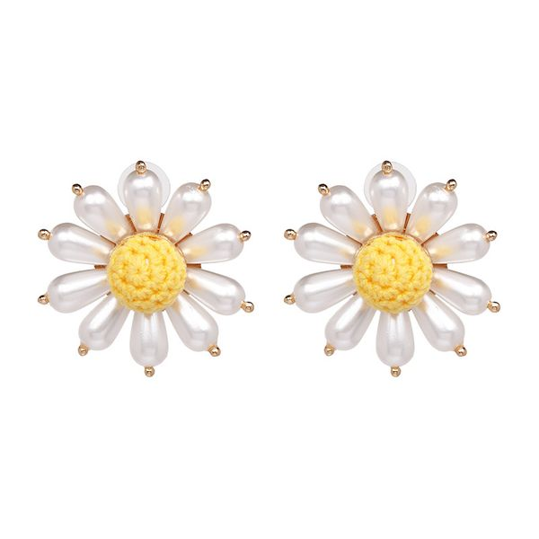 Beads Fashion Flowers earring  (50963) NHJJ4889-50963