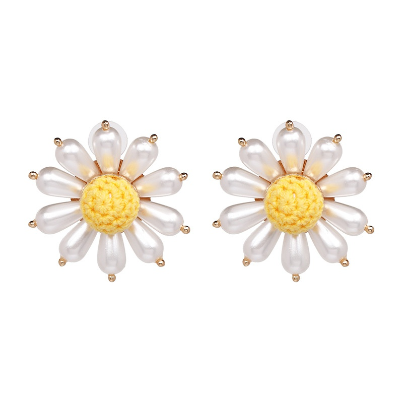 Beads Fashion Flowers earring  (50963) NHJJ4889-50963