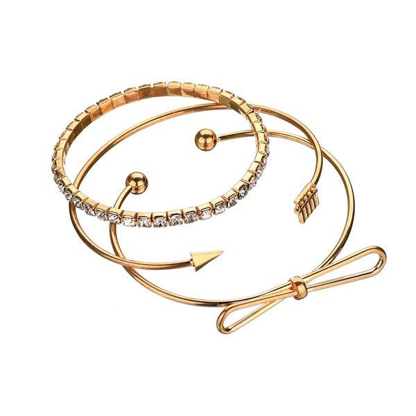 Alloy Simple Geometric Bracelets  (image) NHBQ1361-image