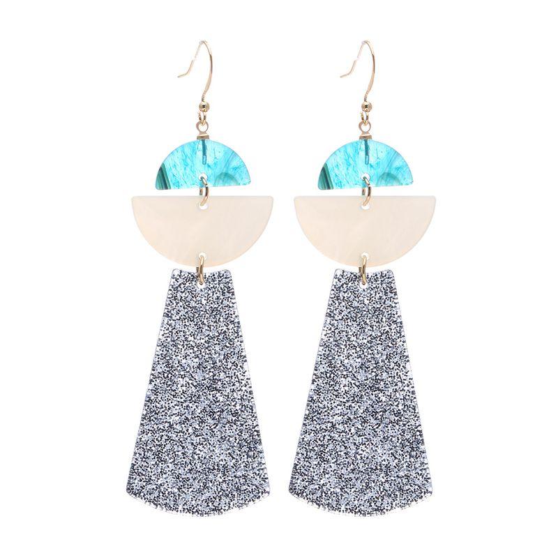Alloy Fashion Geometric earring  (Alloy) NHBQ1364-Alloy