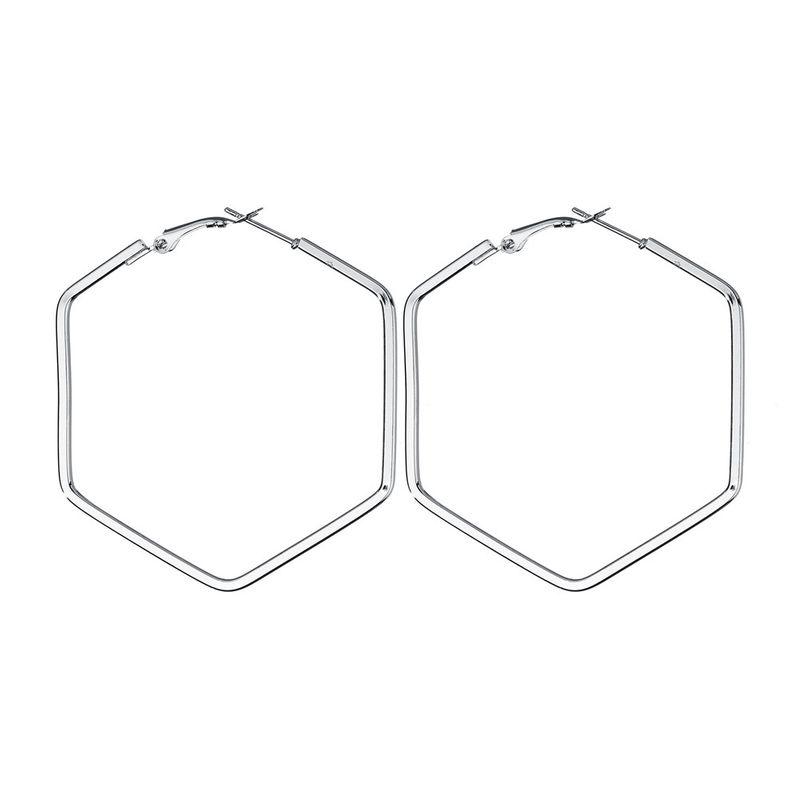 Alloy Fashion Geometric earring  (Alloy) NHBQ1365-Alloy