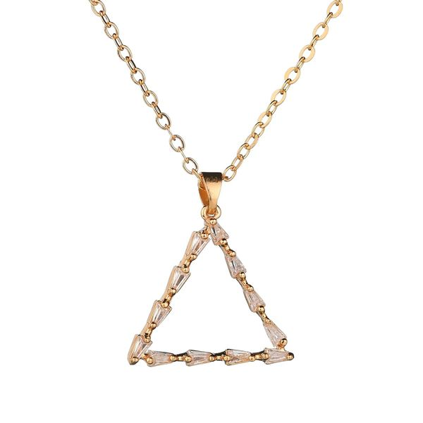 Alloy Simple Geometric necklace  (Alloy) NHBQ1385-Alloy