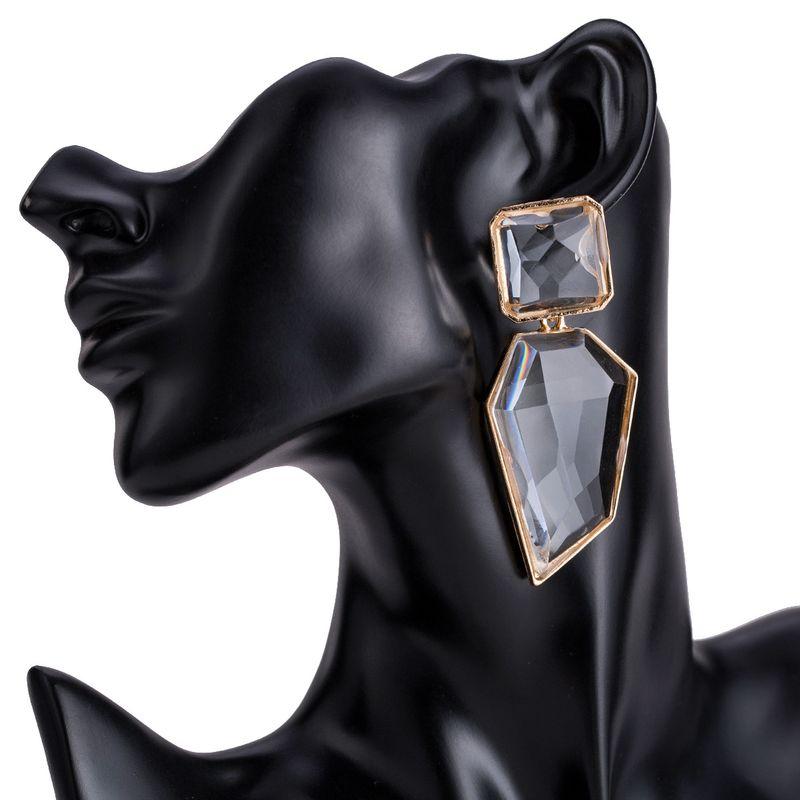 Alloy Fashion Geometric earring  (white) NHJE1494-white