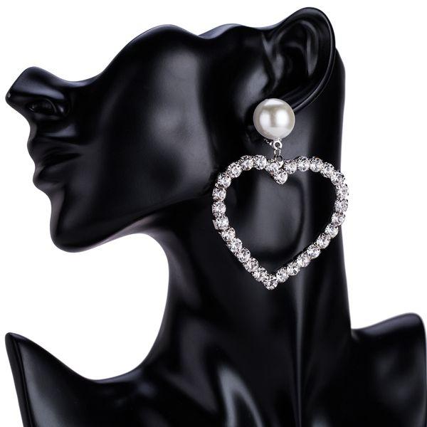 Alloy Fashion Sweetheart earring  (Love) NHJE1498-Love