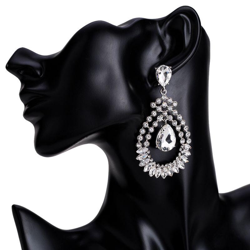 Alloy Fashion Geometric earring  (Alloy) NHJE1505-Alloy