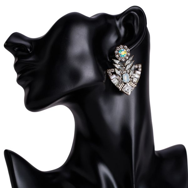 Alloy Fashion Geometric earring  (white) NHJE1513-white