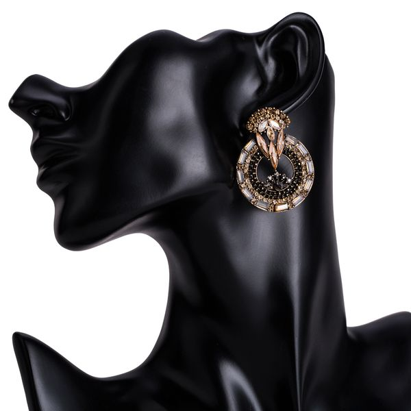 Alloy Fashion Flowers earring  (Alloy) NHJE1516-Alloy