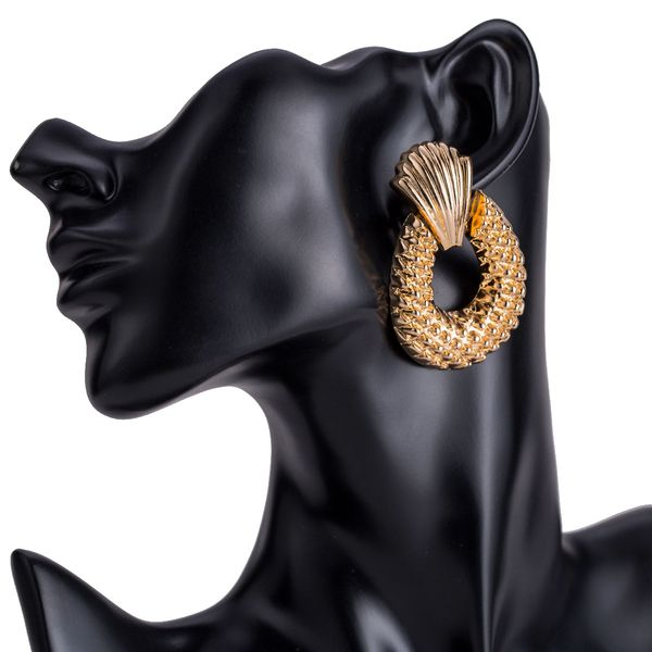 Alloy Fashion Geometric earring  (Alloy) NHJE1520-Alloy