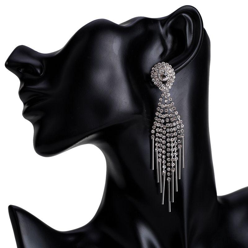 Alloy Fashion Tassel earring  (Alloy) NHJE1534-Alloy