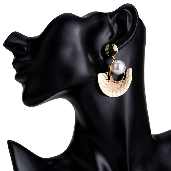 Alloy Fashion Geometric earring  (Alloy) NHJE1535-Alloy