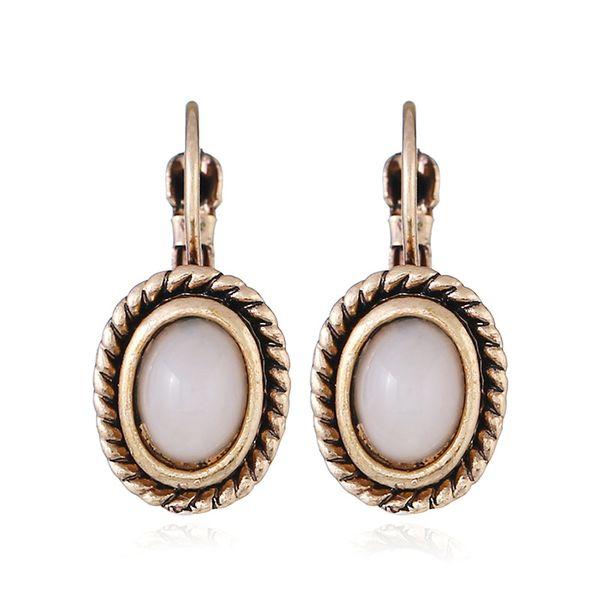 Alloy Fashion Geometric earring  (KC alloy white) NHKQ1713-KC-alloy-white