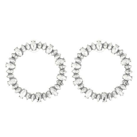 Alloy Korea Geometric earring  (white) NHNMD4480-white's discount tags