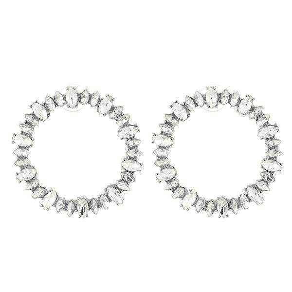 Alloy Korea Geometric earring  (white) NHNMD4480-white