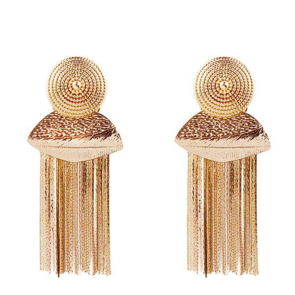 Alloy Fashion Tassel earring  (Alloy) NHNMD4487-Alloy