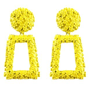Alloy Fashion Geometric earring  (yellow) NHNMD4506-yellow's discount tags