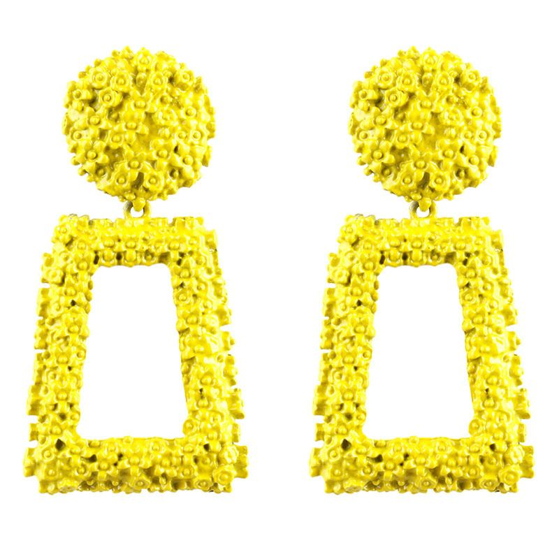 Alloy Fashion Geometric earring  (yellow) NHNMD4506-yellow