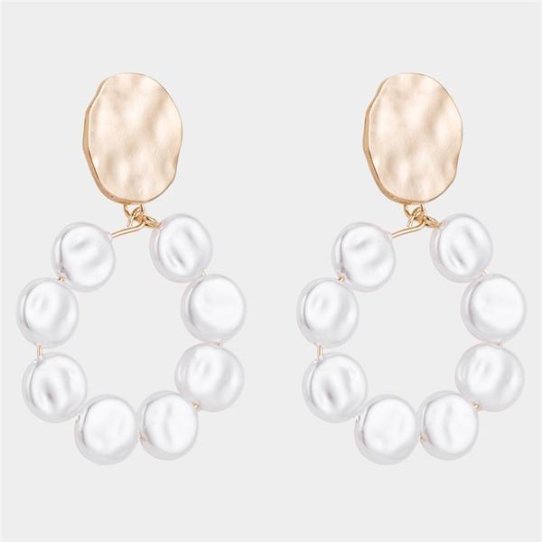 Alloy Simple Geometric earring  (Alloy) NHWF3374-Alloy