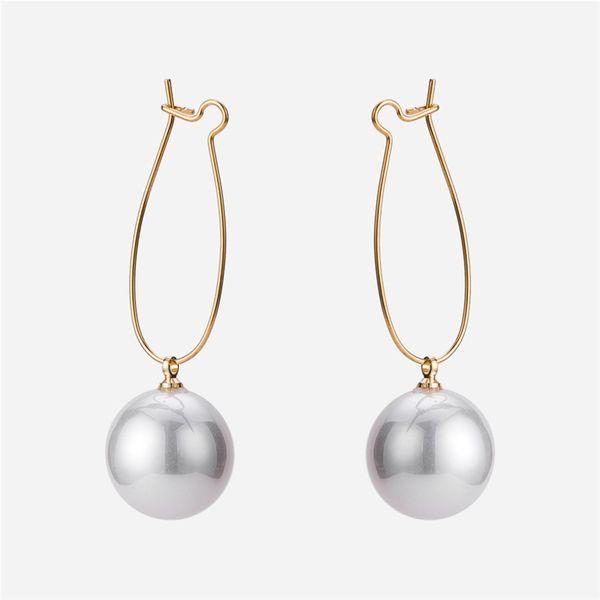 Alloy Simple Geometric earring  (Alloy) NHWF3385-Alloy