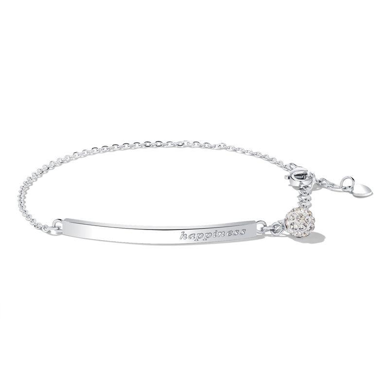 Titanium&Stainless Steel Korea Geometric bracelet  (Steel models) NHOP2690-Steel-models