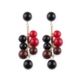 Alloy Fashion Geometric earring  (Color one) NHJQ10398-Color-one's discount tags