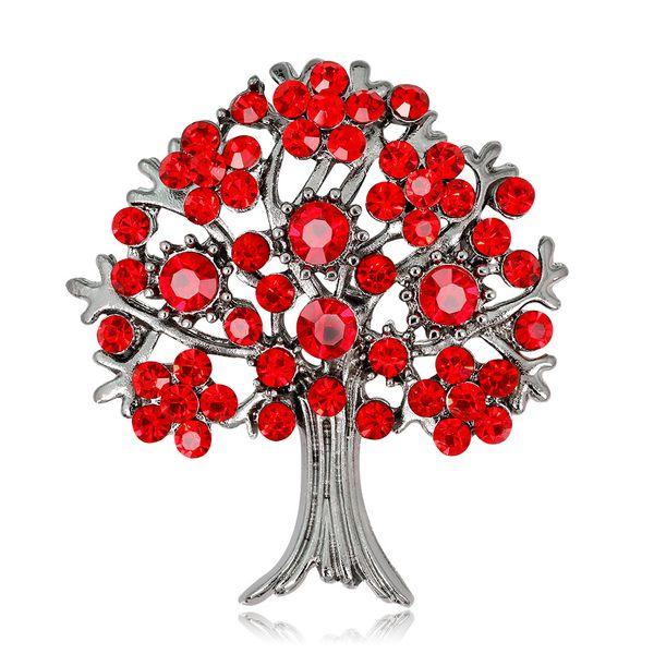 Alloy Korea Flowers brooch  (AL230-A) NHDR2640-AL230-A