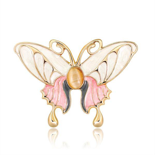 Alloy Fashion Flowers brooch  (AL254-A) NHDR2660-AL254-A