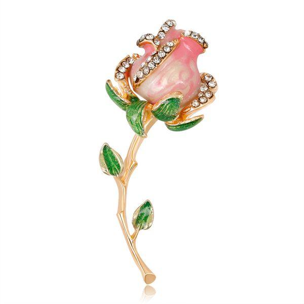 Alloy Fashion Flowers brooch  (AL234-A) NHDR2661-AL234-A