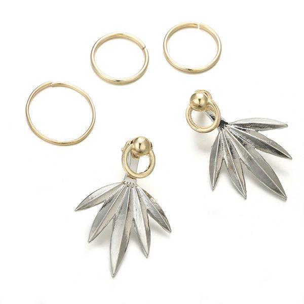 Alloy Fashion Geometric earring  (Sku6145) NHGY1921-Sku6145