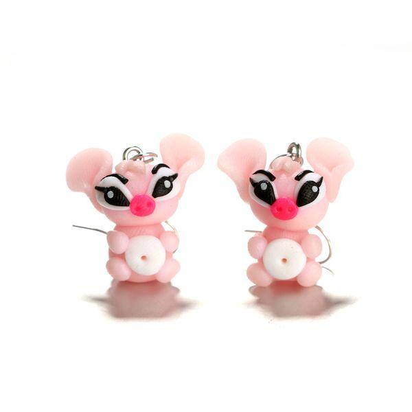 Imitated crystal&CZ Fashion Geometric earring  (Sku6163) NHGY1923-Sku6163